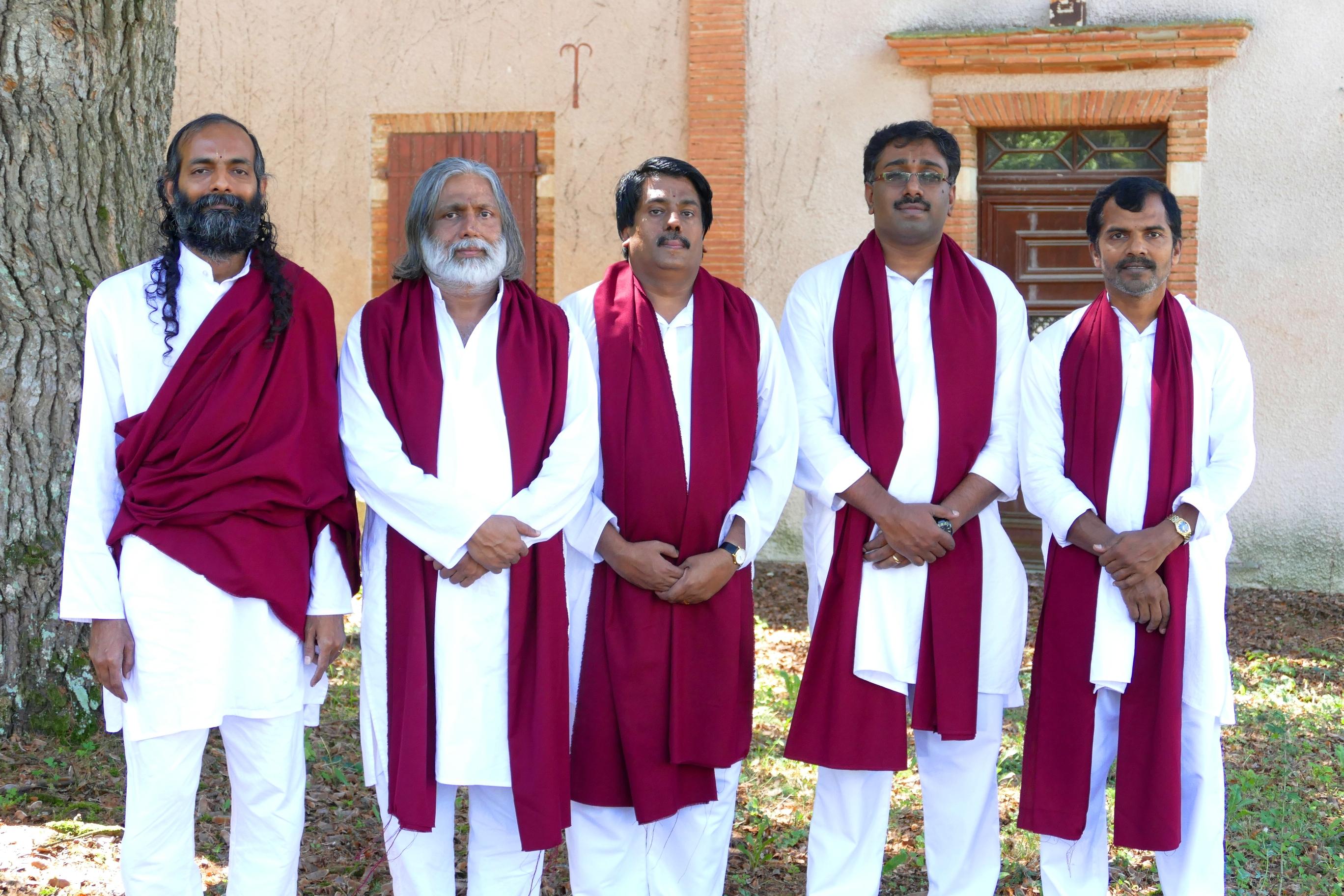 Délégation indienne 2015