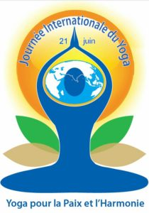 Logo journée internationale yoga