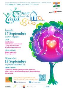 Toulouse à l'heure du yoga les 17 et 18 septembre 2016