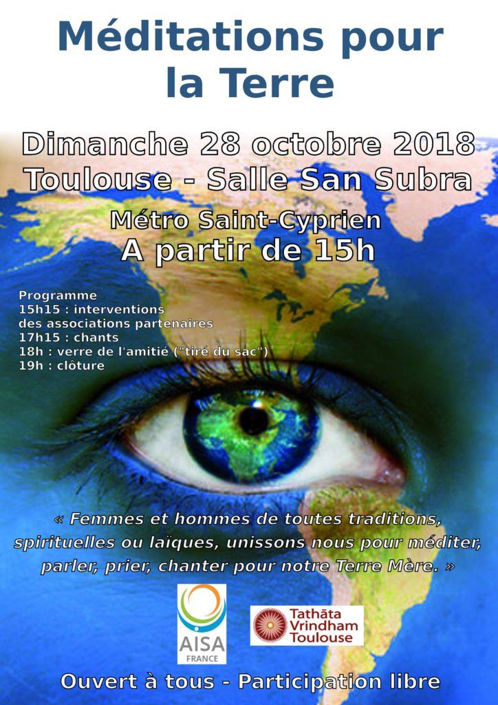 2018 10 28 - Méditation Terre - Affiche v1.1